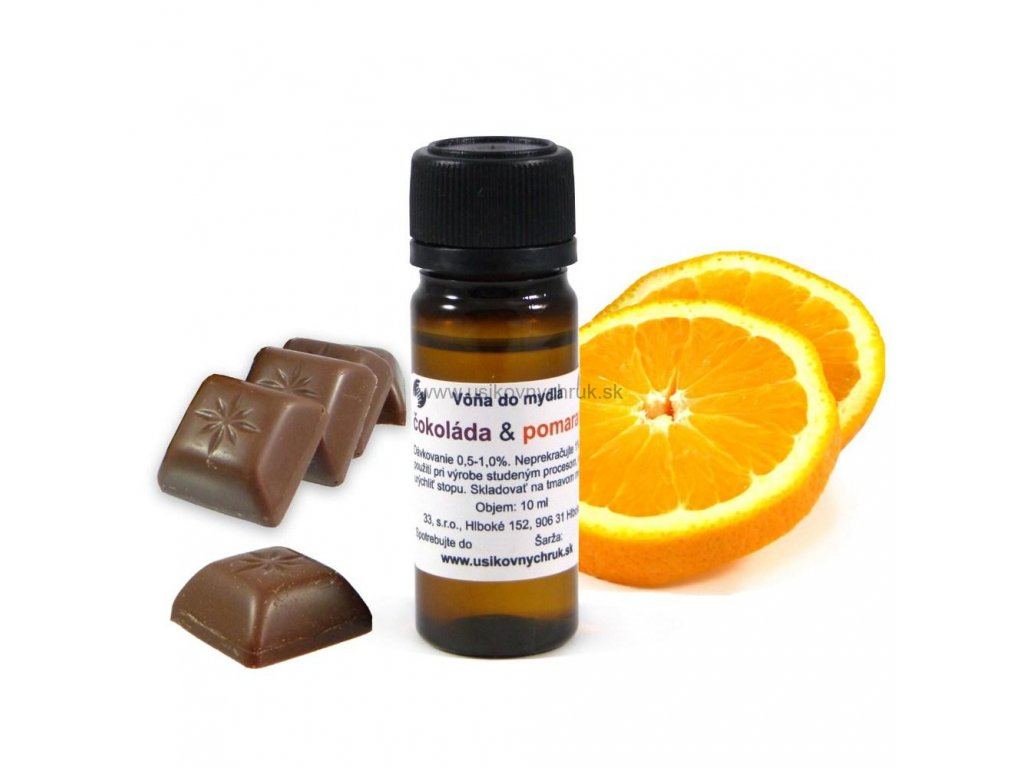 Vôňa do mydla Čokoláda & pomaranč 10 ml