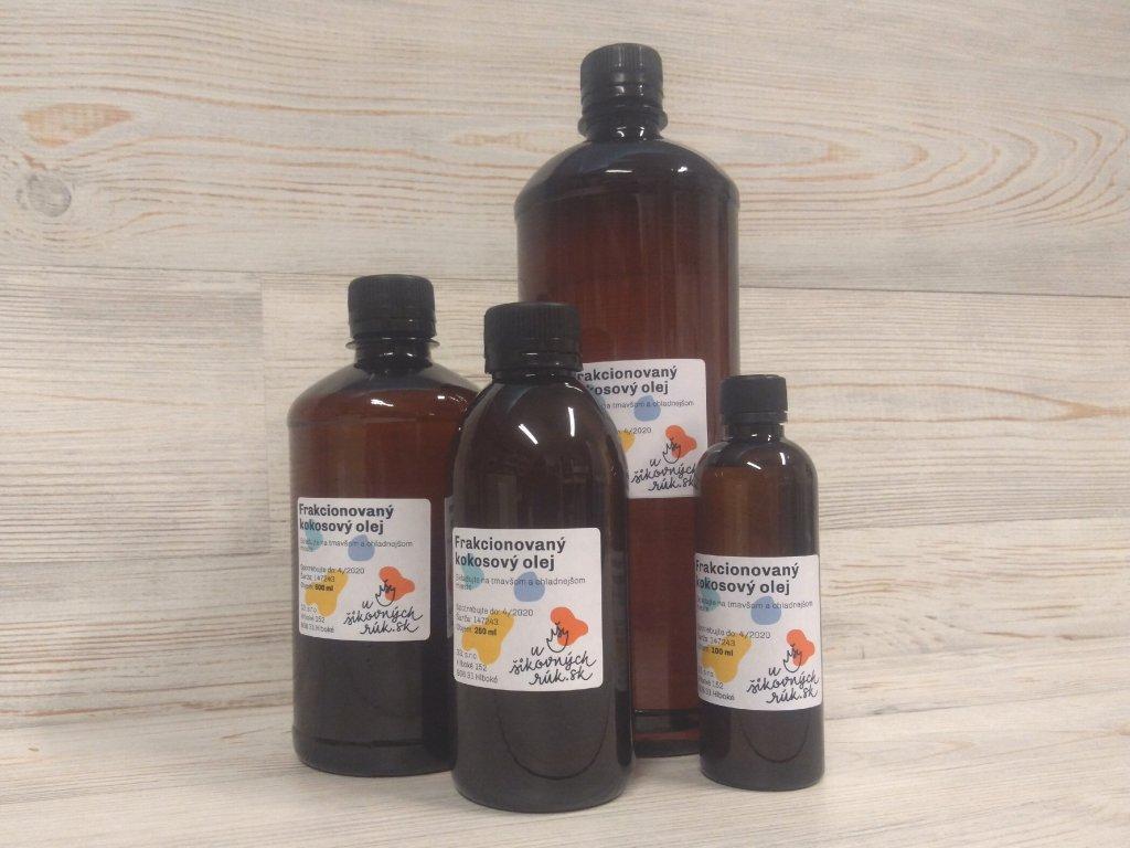 Frakcionovaný kokosový olej 1l