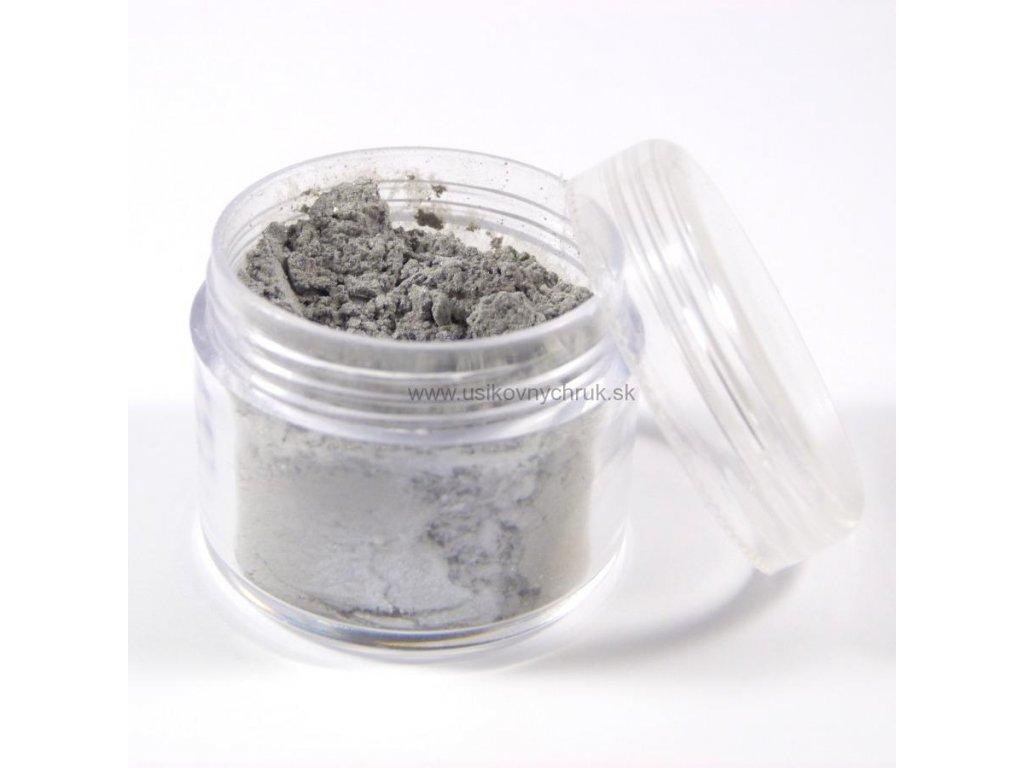 MICA - Strieborná šedá 10 g