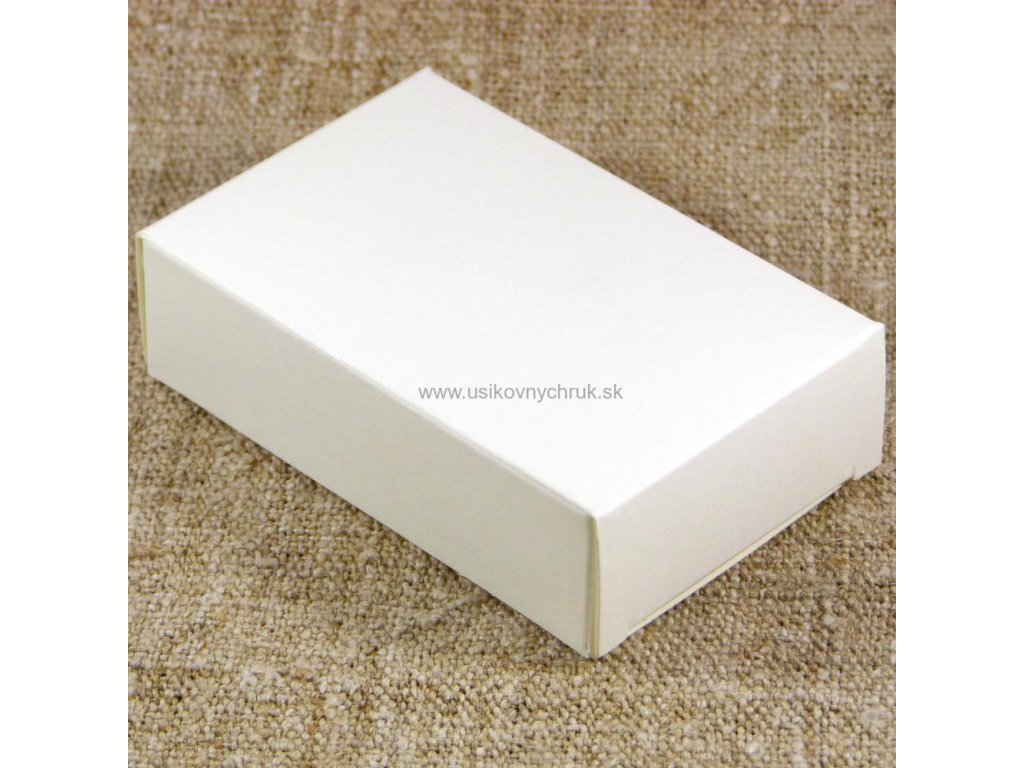 Papierová krabička na mydlo L