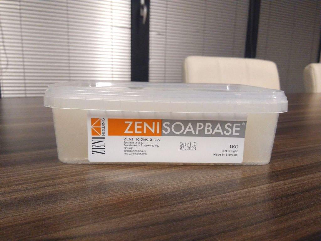 Mydlová hmota SWIRL priehľadná 1kg