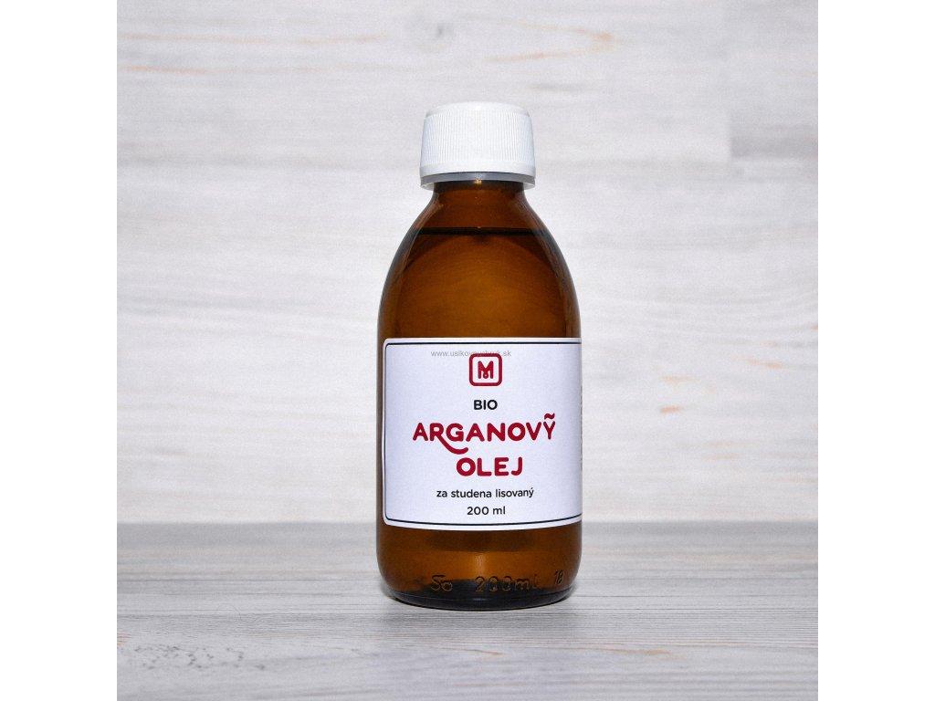 Bio arganový olej lisovaný 500ml za studena
