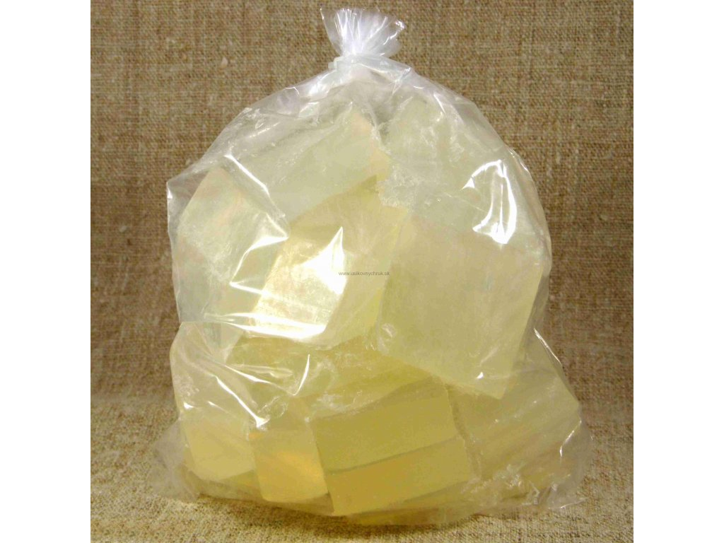 Glycerínová mydlová hmota s olivovým olejom