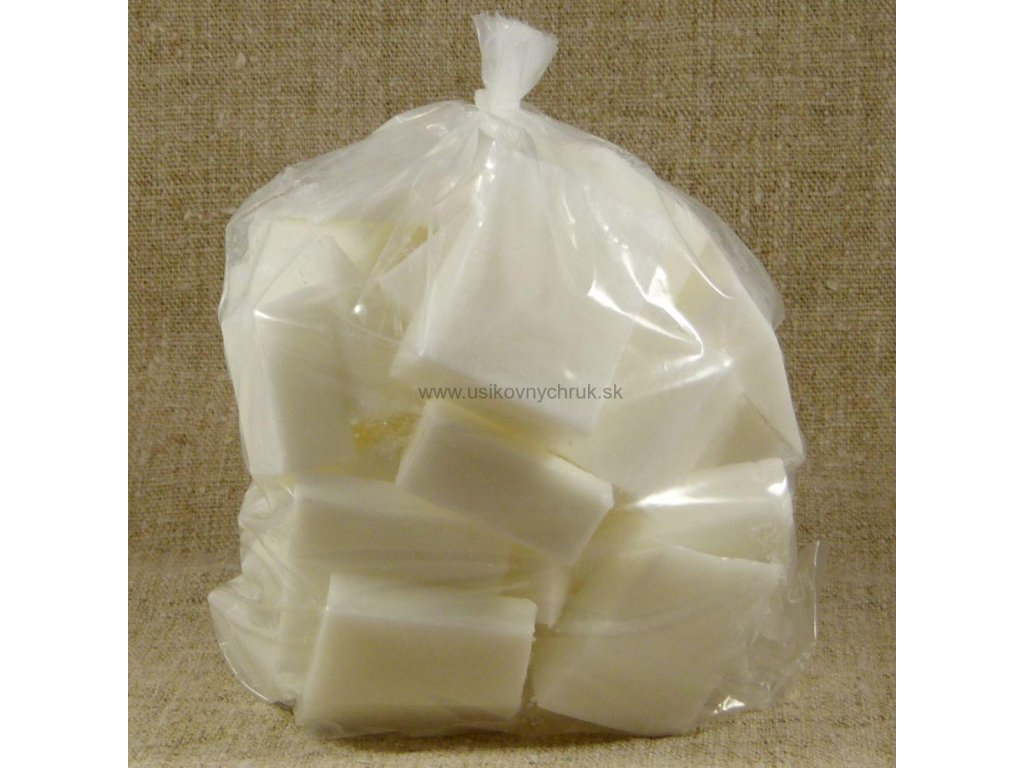 mydlová hmota biela s bambuckým maslom