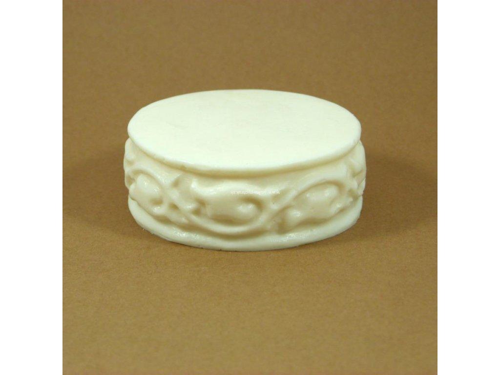 Silikónová forma ovál s ornamentami I.
