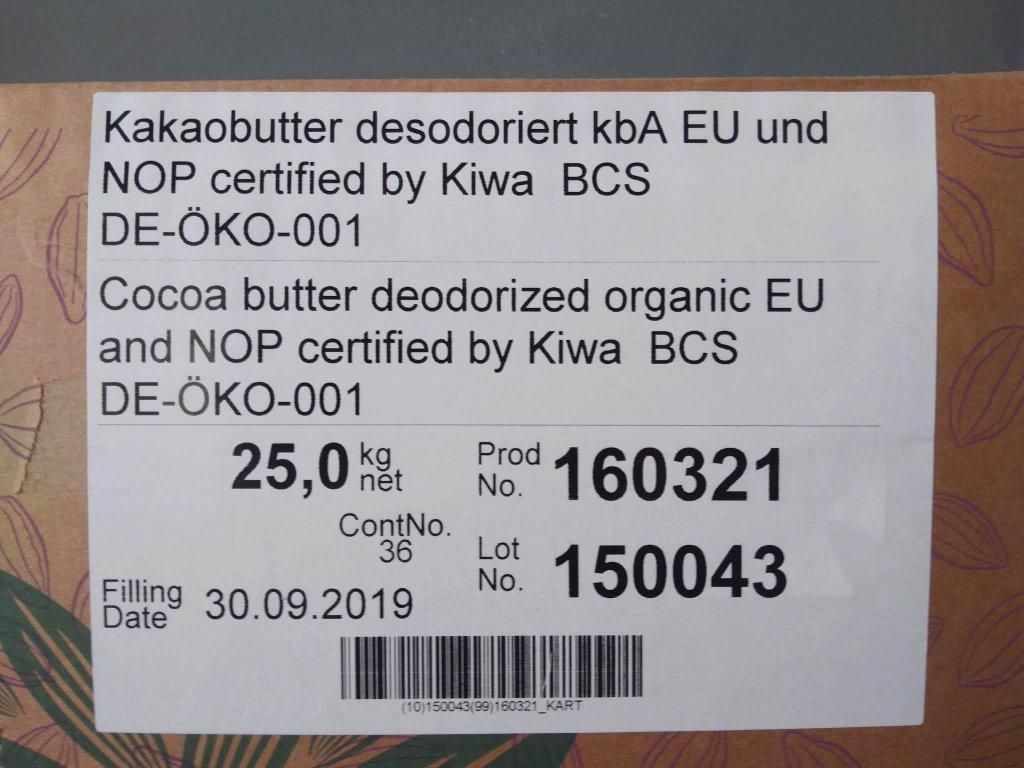 BIO kakaové maslo 100 g