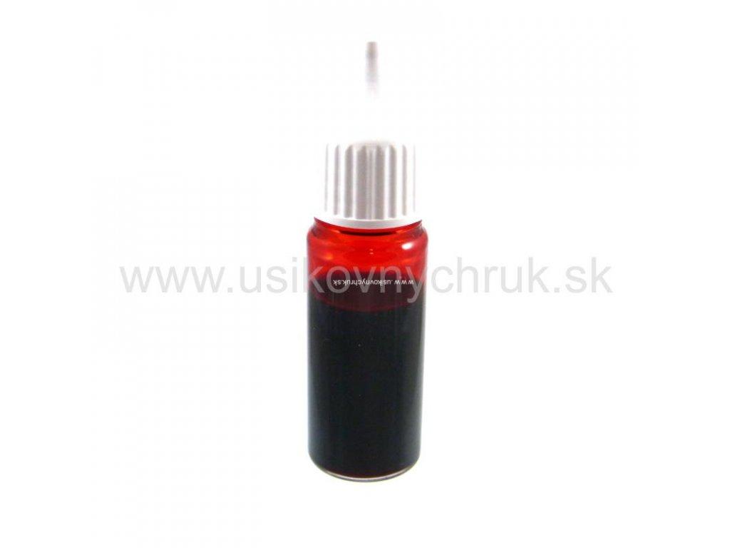 Tekutá farba do mydla: ČERVENÁ 10 ml