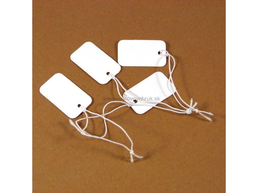 50 ks: Papierová visačka na tovar
