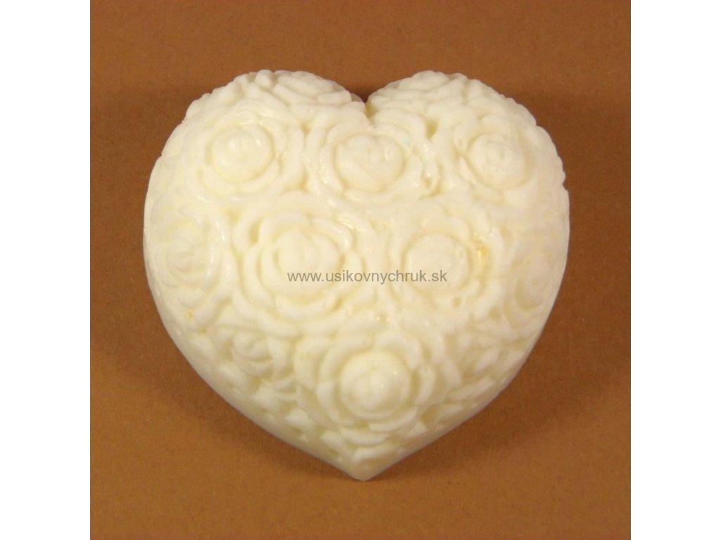 """Silikónová forma na mydlo  """"Srdce ornament"""""""