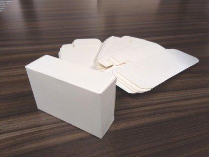 Papierová krabička na mydlo M
