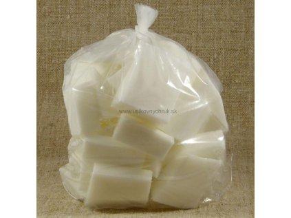 Biela mydlová hmota Crystal WNS (nerosiaca sa) 1 kg