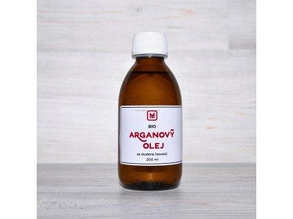 BIO Arganový olej - za studena lisovaný 200 ml