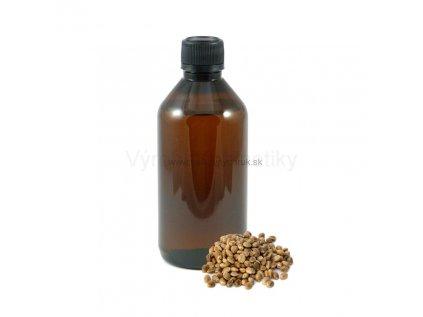 Konopný olej (lisovaný za studena) 1 liter