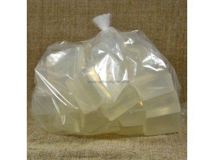 Mydlová hmota priehľadná 1 kg