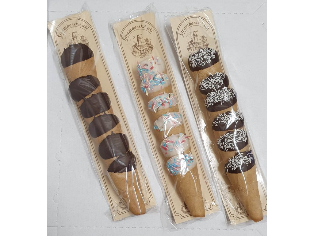 Stramberske usi v cokolade 2