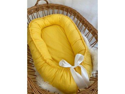 HNÍZDEČKO - žlutá bavlna