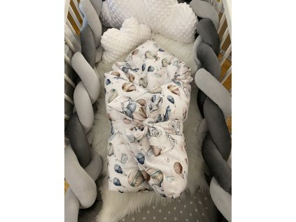 Zimní zavinovačka - premium bavlna CIRKUS
