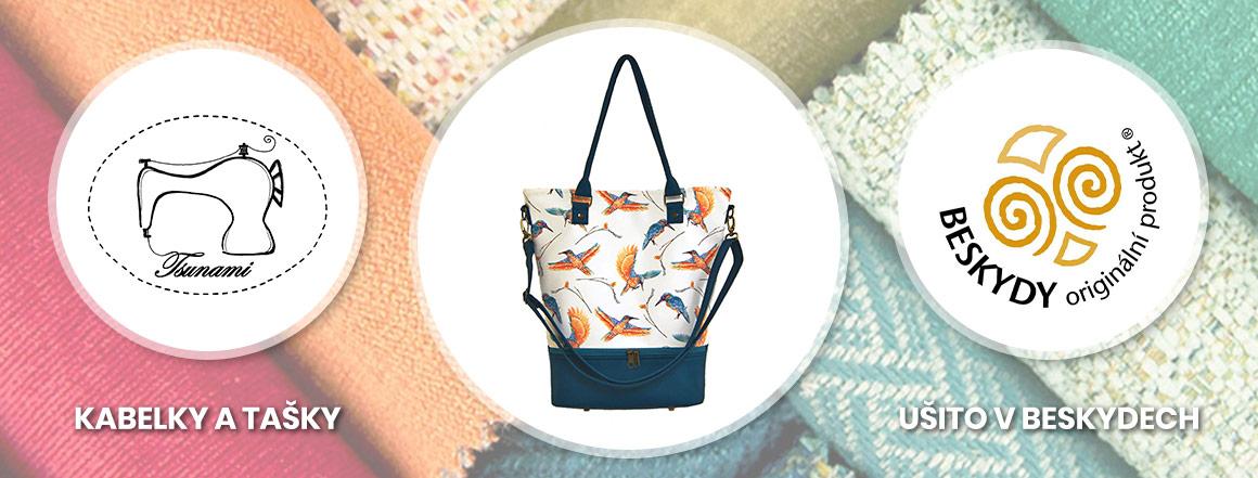 Kabelky a tašky Tsunami Handmade