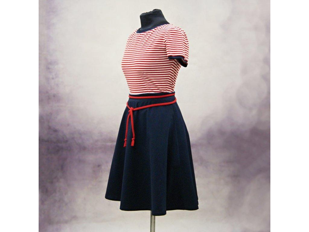 """Šaty námořnické """"Lola"""" - vel.44"""