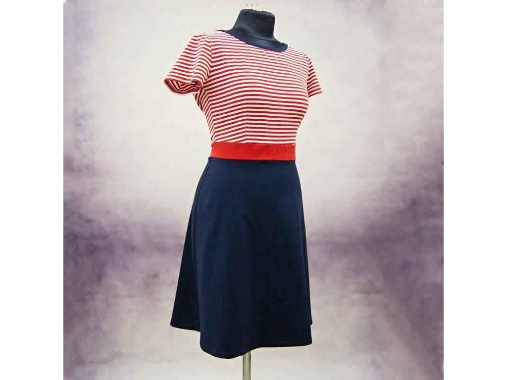 """Šaty námořnické """"Wendy"""" - vel.42-44"""
