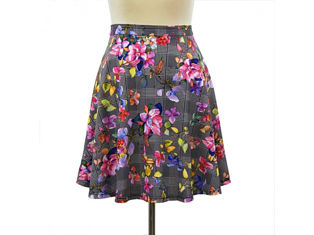 """Půlkolová sukně """"Polly"""" vel.46-48"""