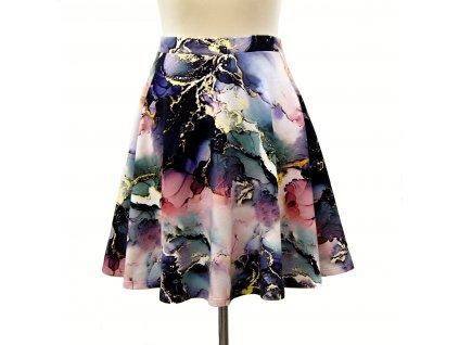 """Půlkolová sukně """"Abstract"""" vel.44-48"""