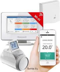 EvoHome - bezdrátová zónová regulace vytápění s možností vzdáleného ovládání pomocí mobilní aplikace,  regulujte si každou místnost samostatně dle Vašich potřeb