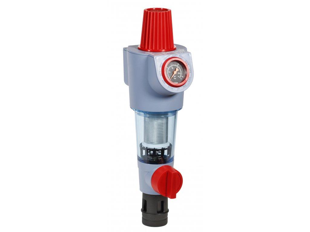 Honeywell FK74CS-3/4AA - Jemný filtr se zpětným proplachem a vestavěným redukčním ventilem