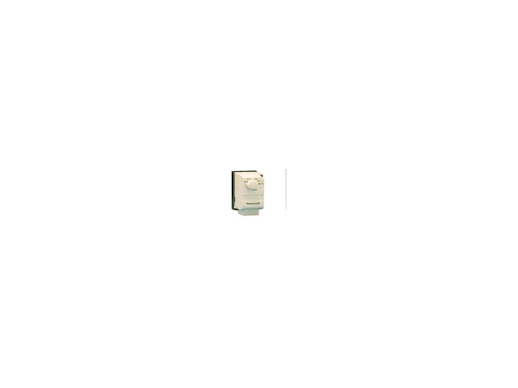 L641B1004 Honeywell - Příložný termostat pro montáž na potrubí, rozsah 2 - 40 °C