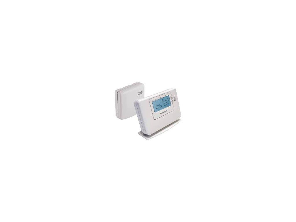CM727 RF - Honeywell bezdrátový, prostorový, programovatelný termostat řady CMT727