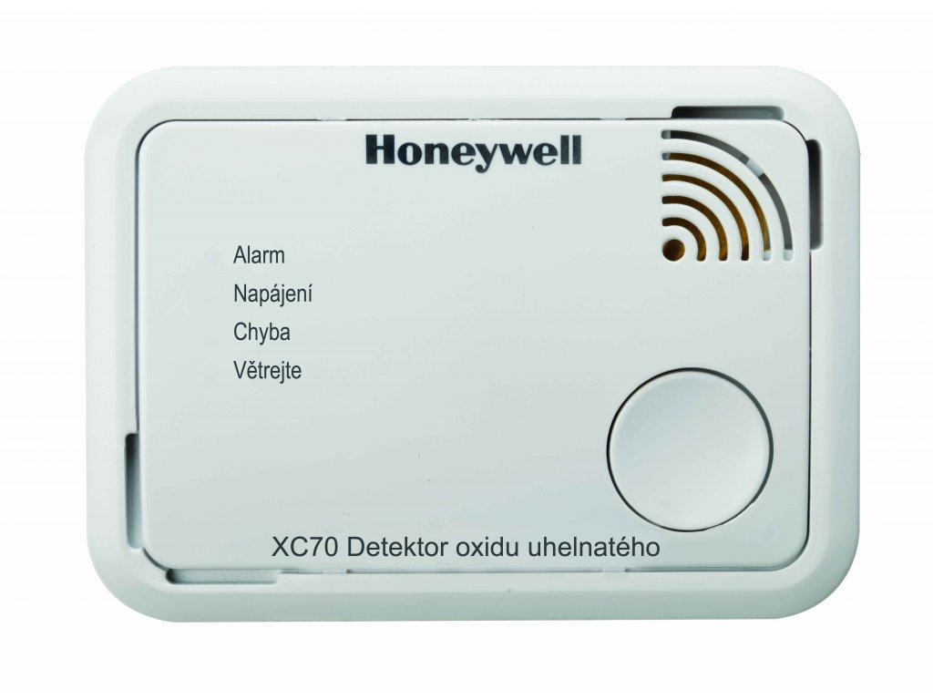 XC70-CS - Honeywell CO Alarm / CO detektor XC70, řada X-series