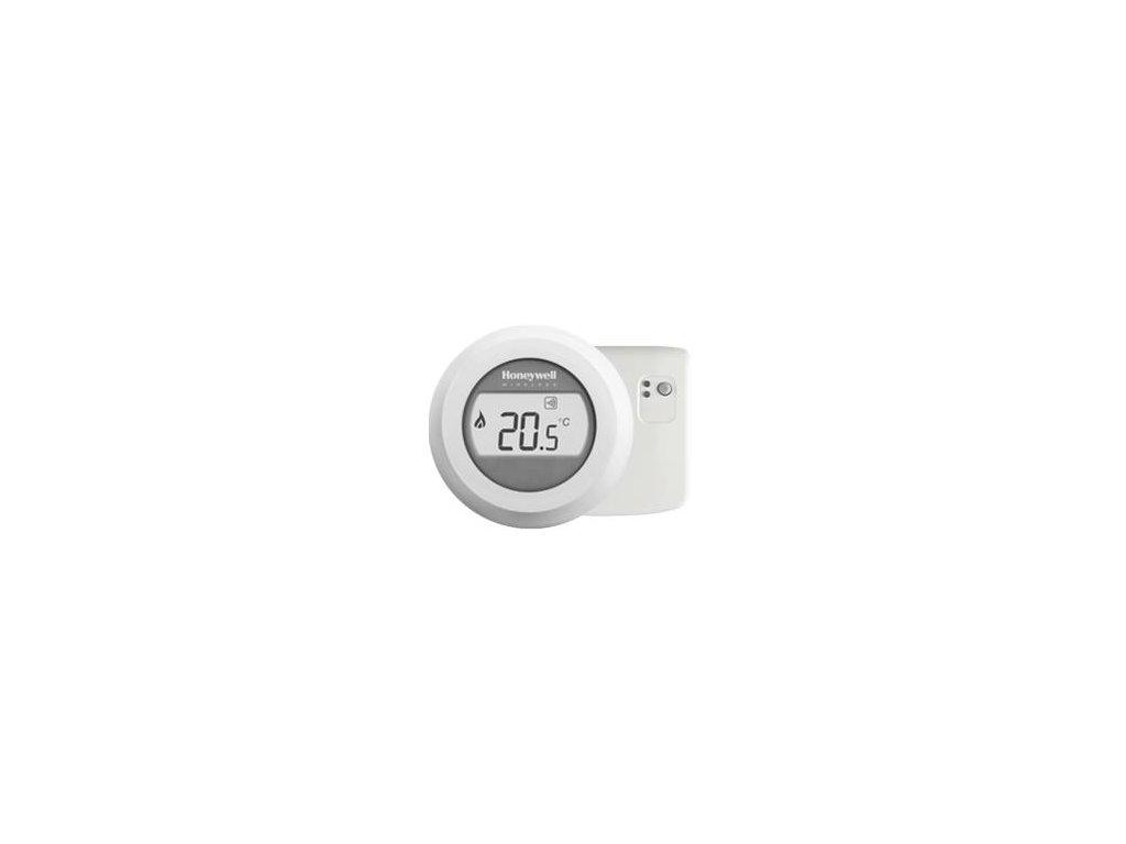 Honeywell Round Y87RF2024 - sada bezdrátový prostorový termostat + reléová jednotka