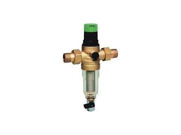 Filtr s redukčním ventilem Honeywell FK06-3/4AA MiniPlus - Jemný proplachovatelný filtr s vestavěným redukčním ventilem