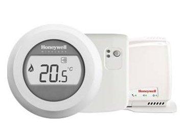 Honeywell Evohome Round Home Connected Y87RFC2074 termostat pro vzdálené ovládání mobilním  telefonem