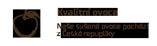 Kvalitní ovoce z ČR