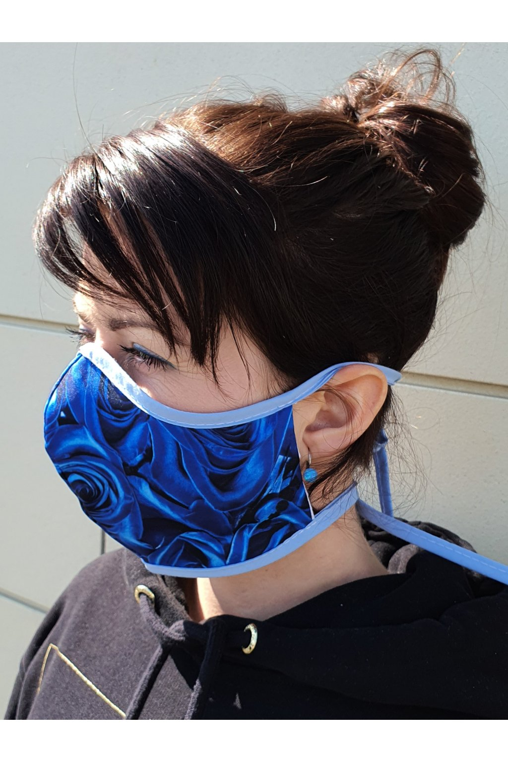 blue před