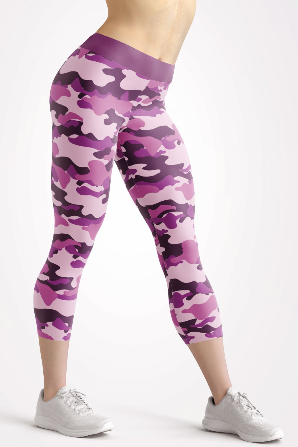 camouflage 3 4 leggings front by utopy