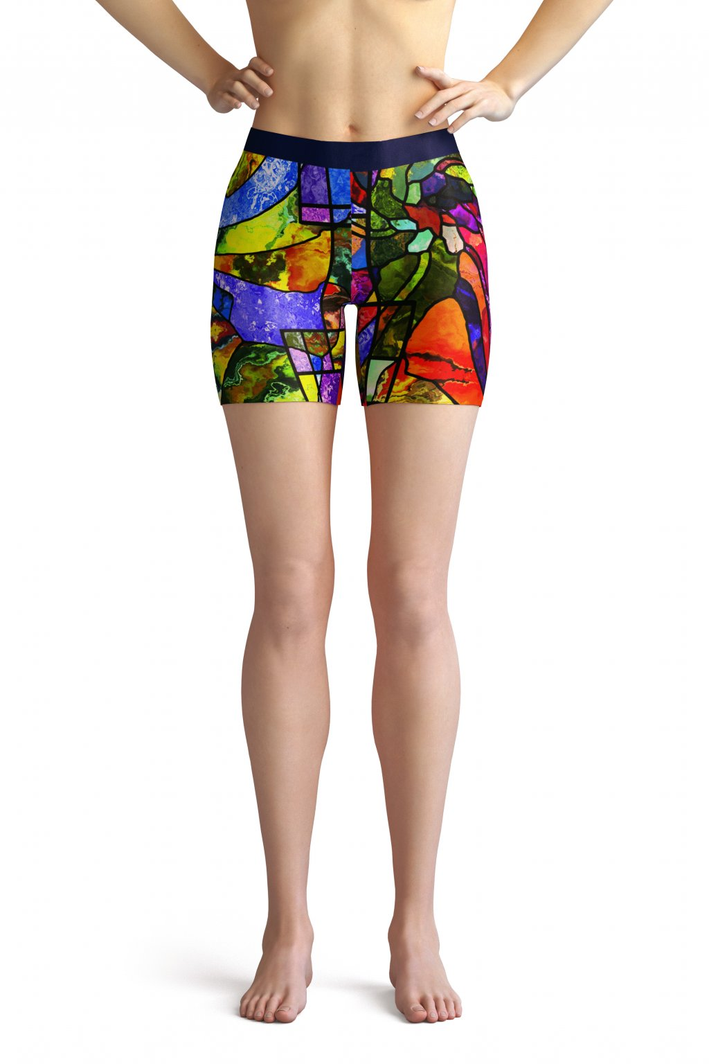 vitrage shorts front by utopy