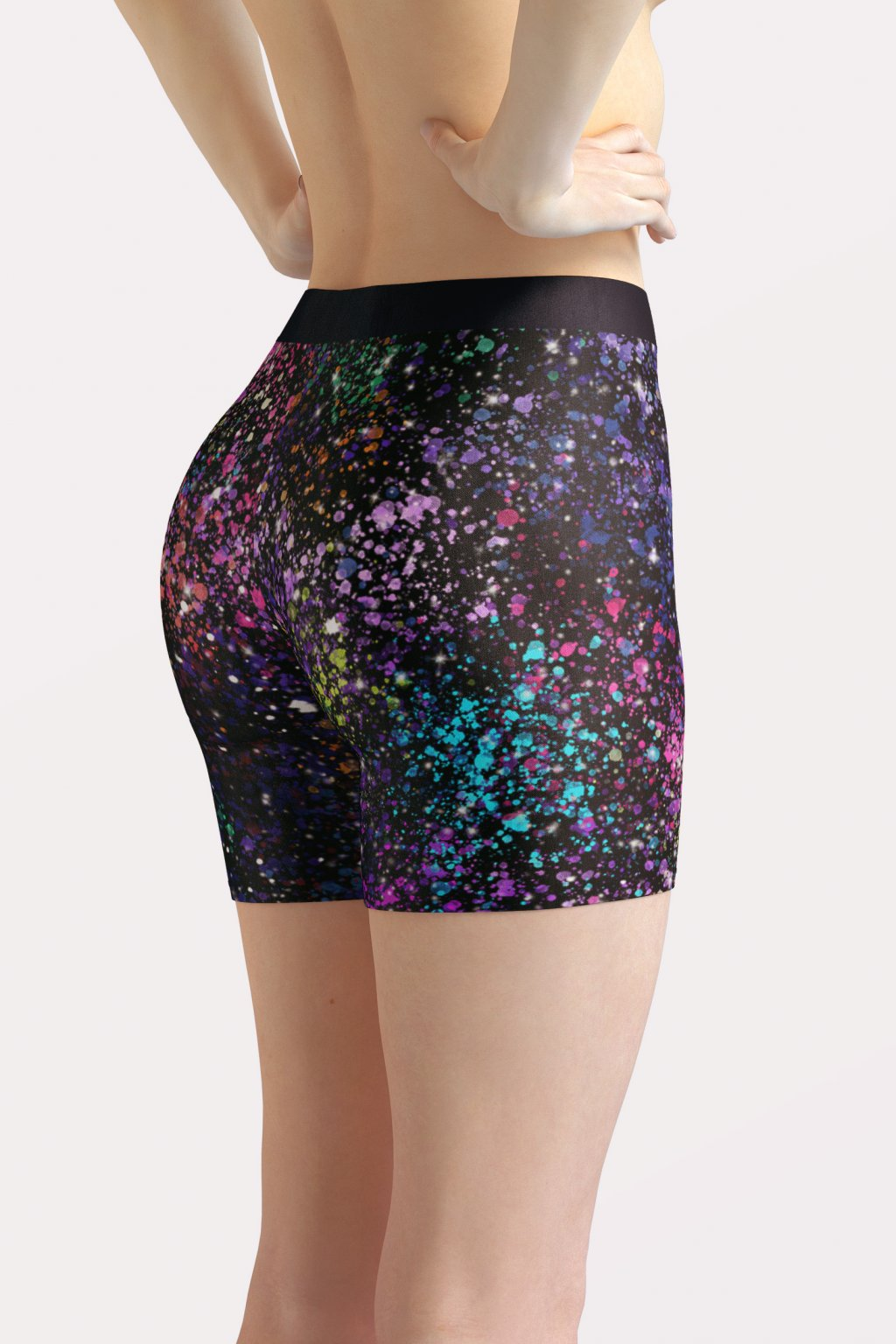galaxy shorts back side by utopy