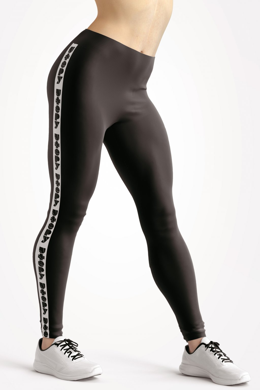 basic collection black utopy leggings front by utopy v2