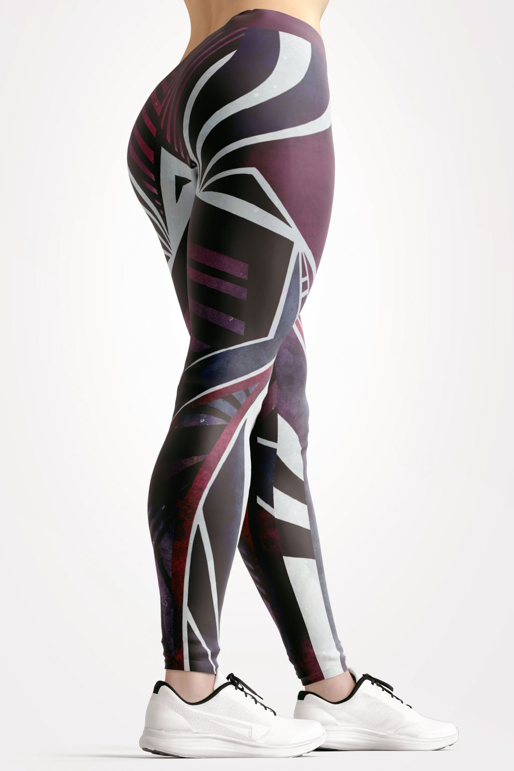 sacred lines leggings back side by utopy
