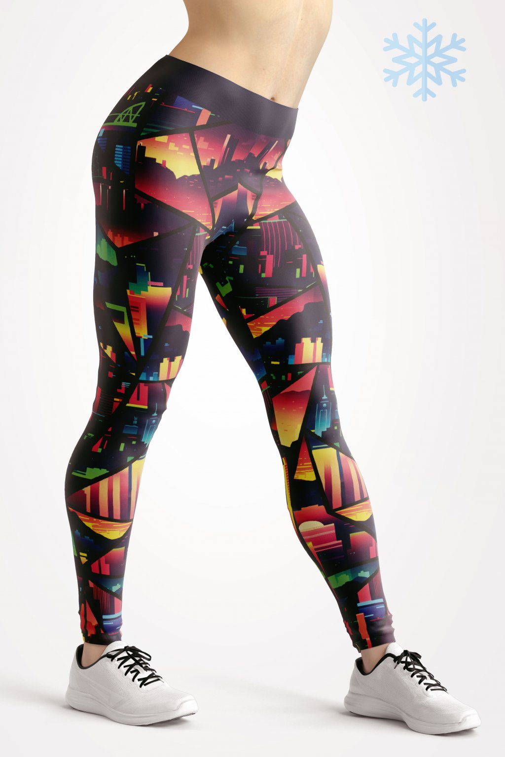 termo legíny citiy of dawn leggings front by utopy