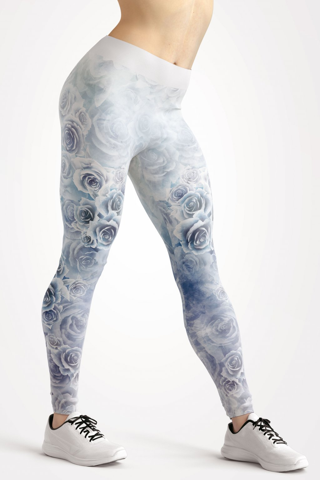 frozen roses leggings front by utopy