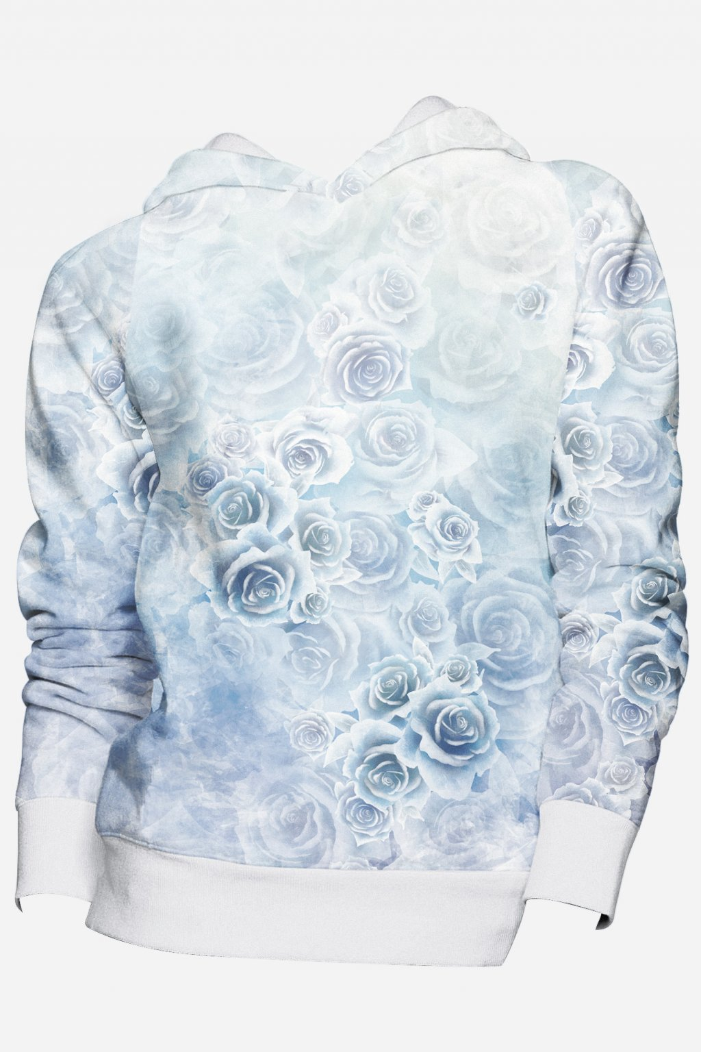 mikina frozen roses front fullprint by utopy