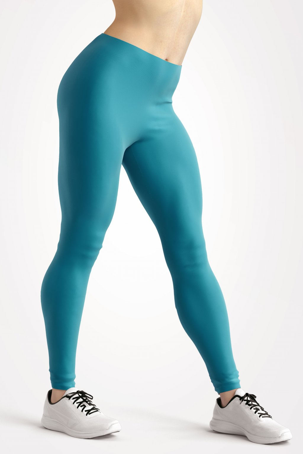 leggings azure blue essentials front side by utopy