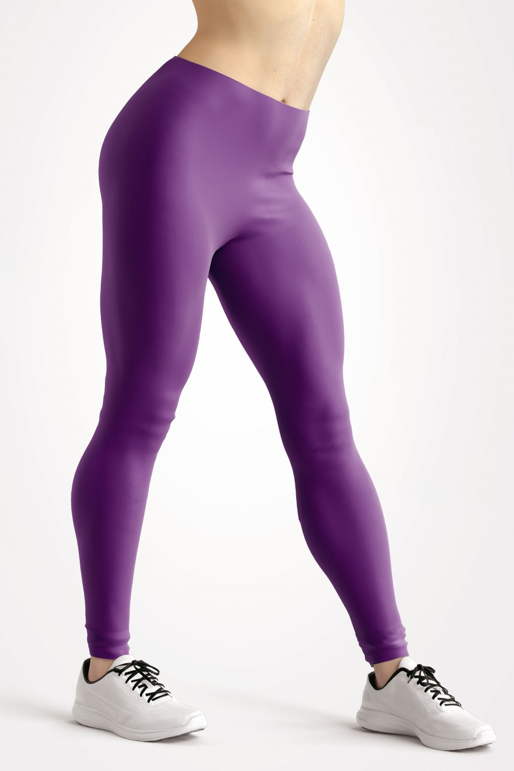 leggings purple essentials front side by utopy