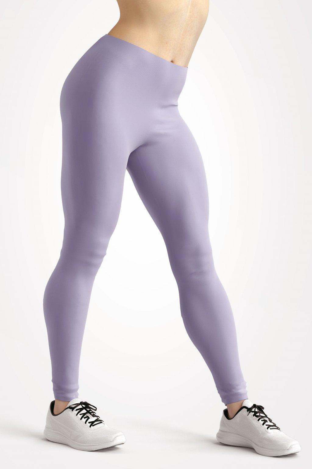 leggings levander pink essentials front side by utopy
