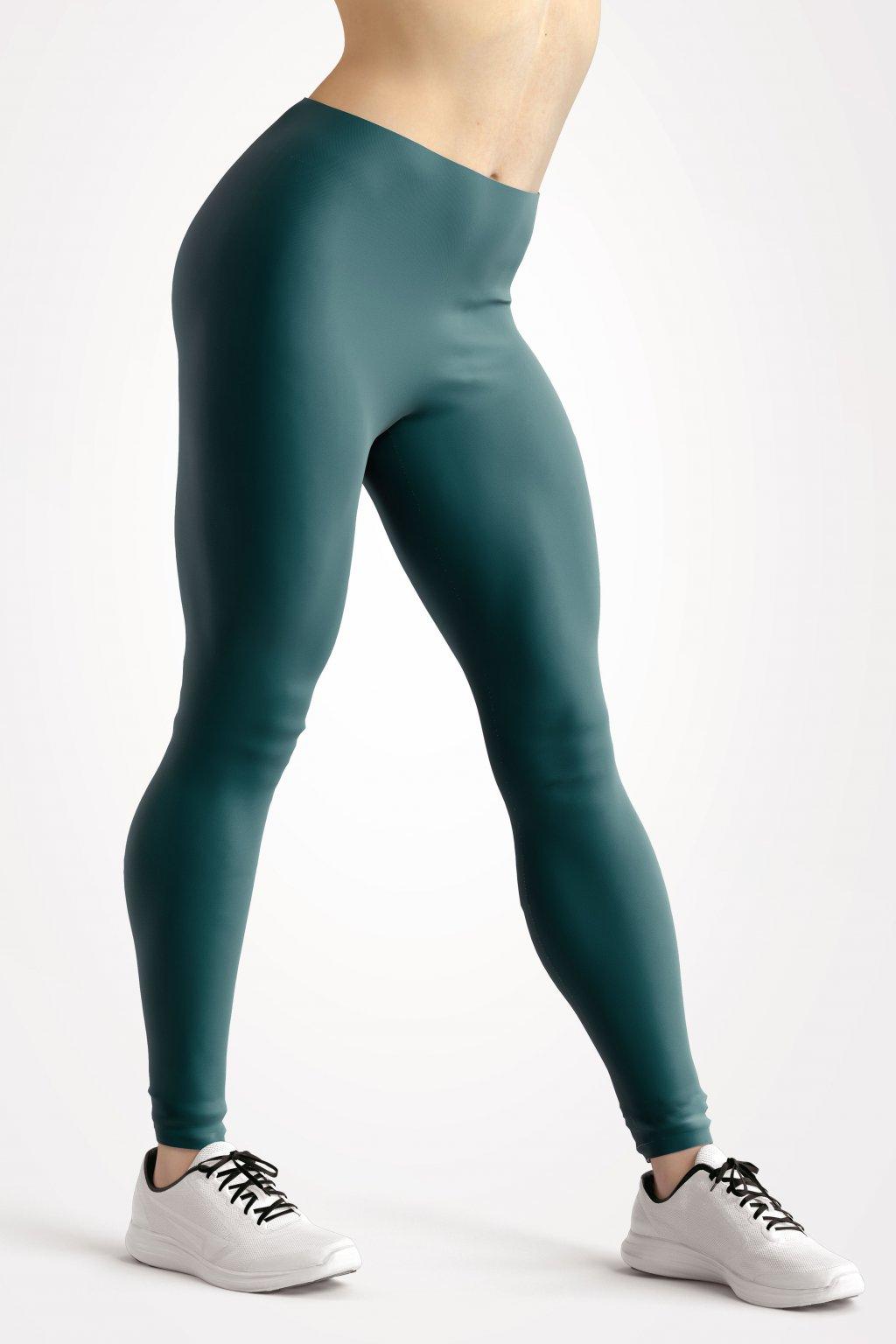 leggings teal essentials front side by utopy