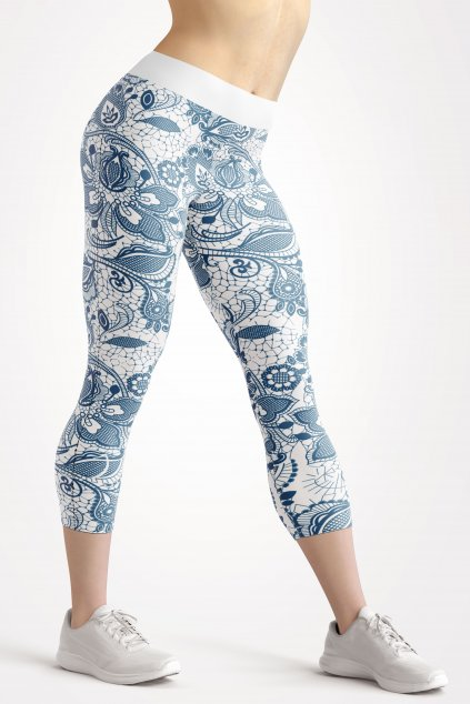 baroque 3 4 leggings front by utopy