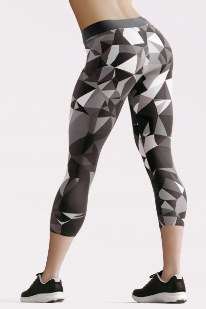 black crystal 3 4 leggings back by utopy